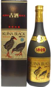 くいなブラック5年古酒43度