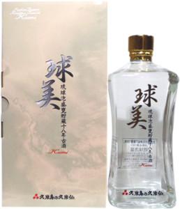 久米島の久米仙18年古酒