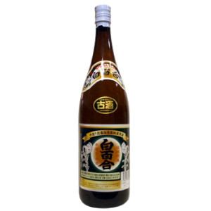 白百合 古酒43度1升瓶リニューアル