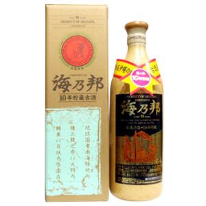 海乃邦10年古酒43度