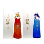 「松藤 潮騒ボトル」崎山酒造廠 美しい容器はギフト