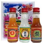 「請福酒造 八重山泡盛ミニボトル3本セット」請福酒造のお酒飲み比べ!