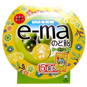 沖縄限定 e-maのど飴シークヮーサー