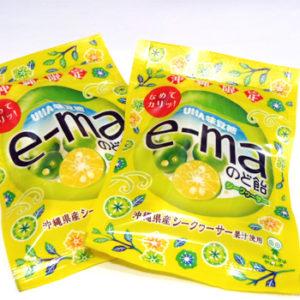 e-maのど飴 袋