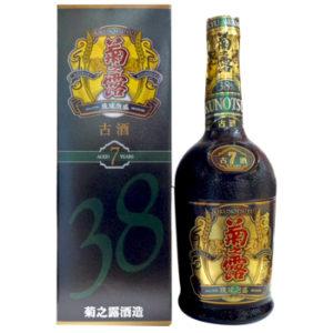 菊之露7年古酒38度