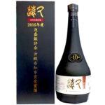 多良川「2016年県知事賞受賞酒 十年古酒久遠43度4合瓶」 販売情報