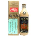 平成28年度県知事賞受賞酒「海乃邦10年古酒43度」今だけの限定品