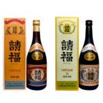 「請福ビンテージ3年古酒」請福酒造 蒸留年が記載されている泡盛