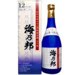 沖縄県酒造協同組合「海乃邦12年古酒30度」奥深い逸品