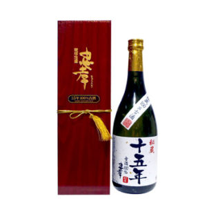 """忠孝10年100%古酒"""""""