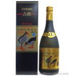 「くいなブラック ゴールド5年古酒43度」田嘉里酒造 旨さ際立つ5年100%クース